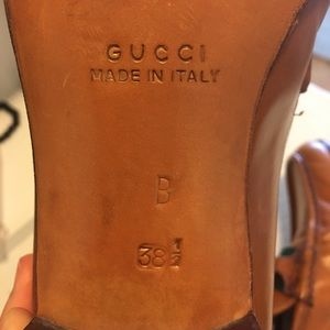 Gucci Shoes - Gucci 1979 Striped Leather Horsebit Loafers